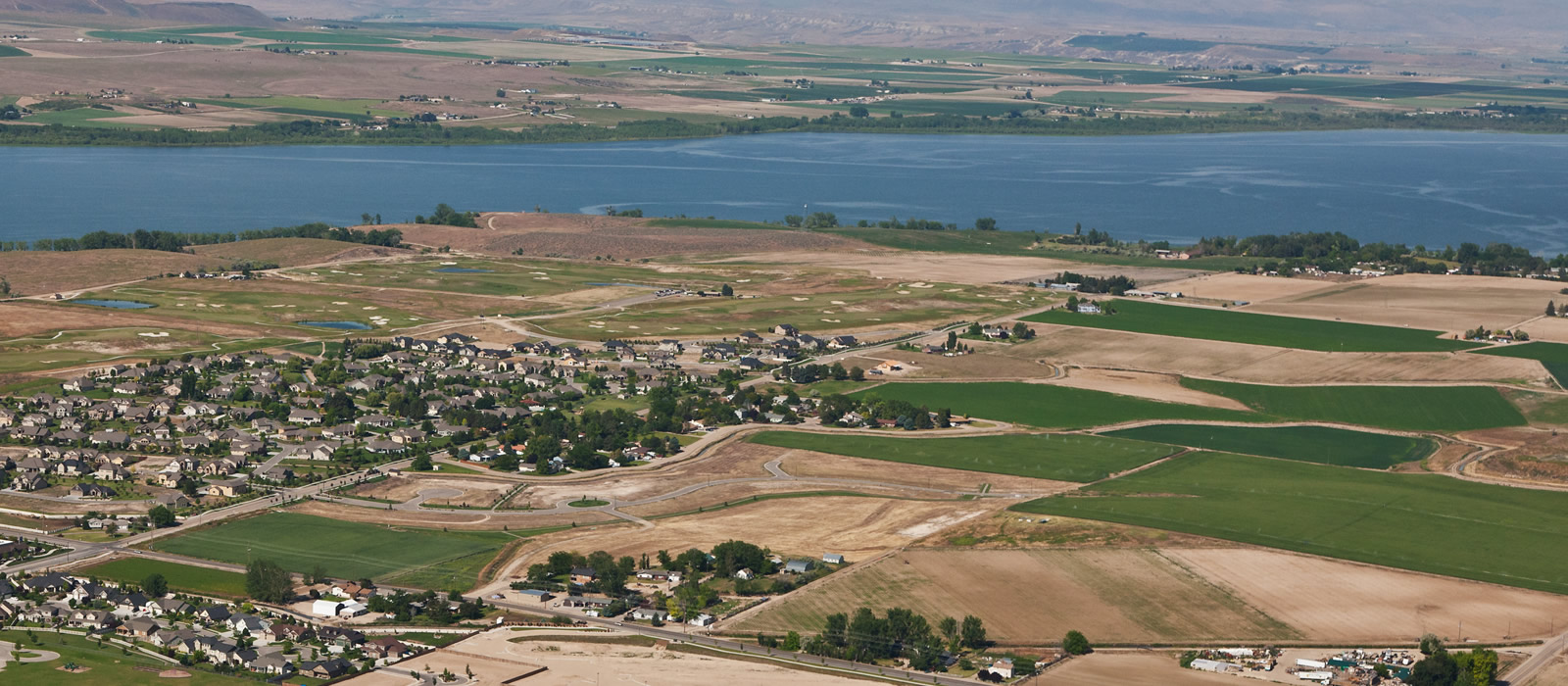 Lake Lowell in Nampa Idaho